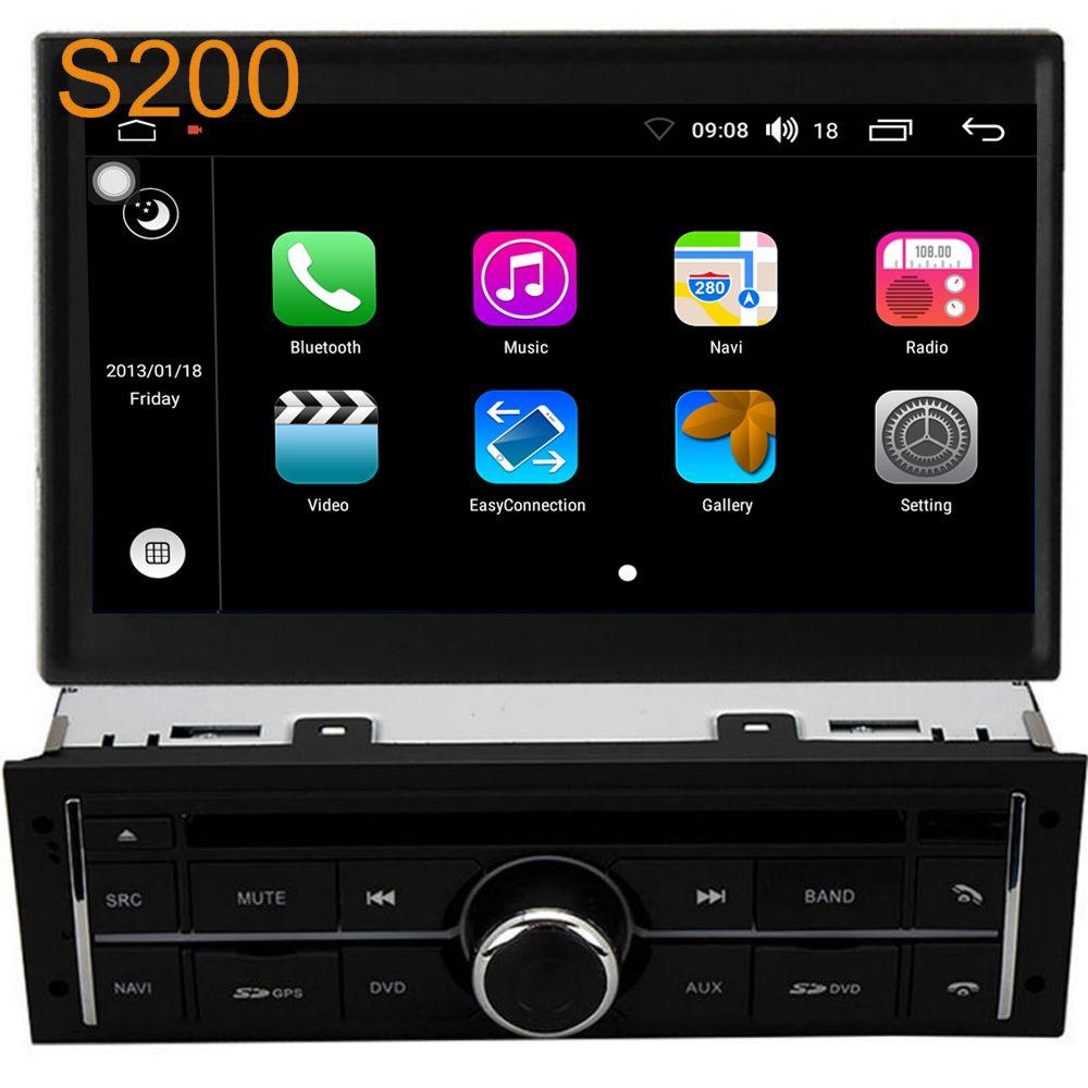 Winca S200 Android 8.0 PX5 Octa 8-Core CPU 32GB Rom Car DVD Radio GPS Navigation Head Unit for Mitsubishi L200 Triton 2010-2015