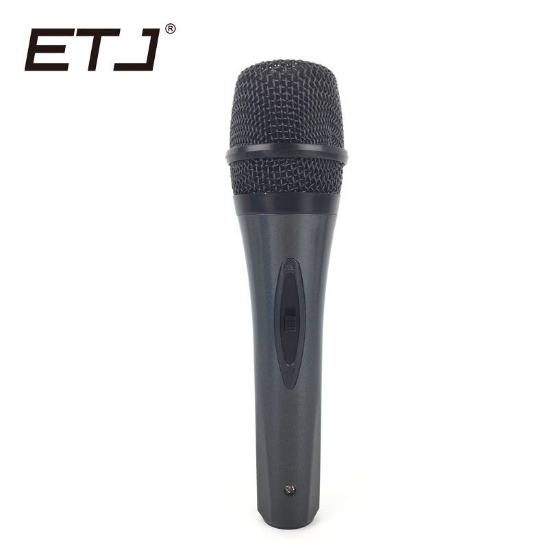 ETJ Professional BT58A Cardioid Switch Vocal Handheld Dynamic Wired Microphone For BETA58A or SM 58 Karaoke Mic Microfone