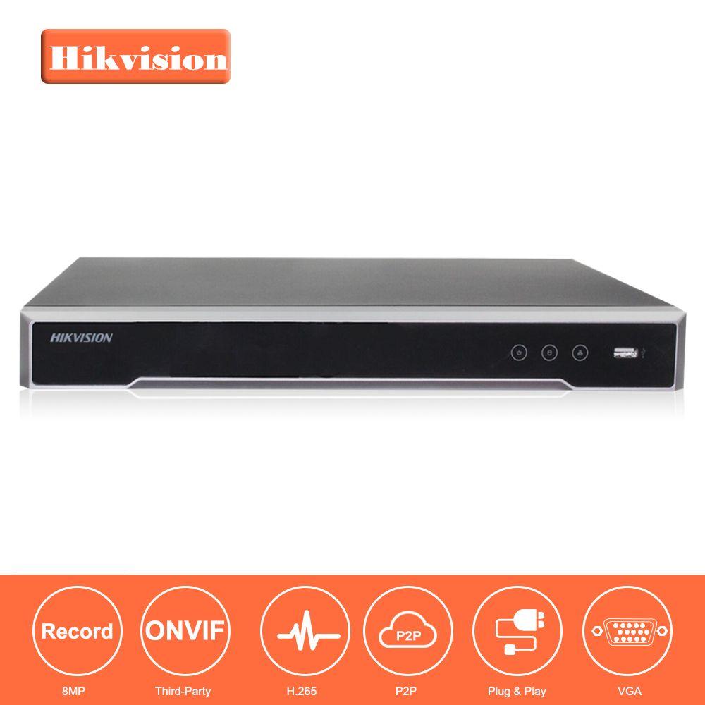 Hikvision CH CCTV System DS-7608NI-K2/8 p & DS-7616NI-K2/16 Embedded Plug & Play 4 karat NVR mit 8/16 2 Sata-schnittstellen 8 POE Port