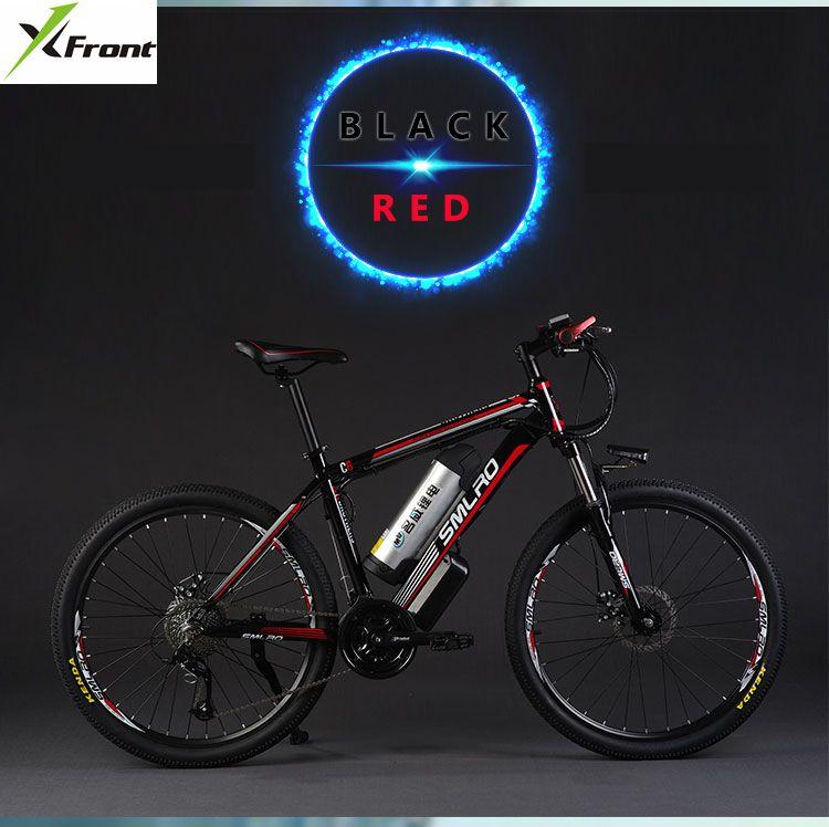 Original X-Front marke 26 zoll 48 V 500 W 12A Lithium-Batterie Berg Elektrisches Fahrrad 27 Geschwindigkeit Elektrische fahrrad downhill ebike