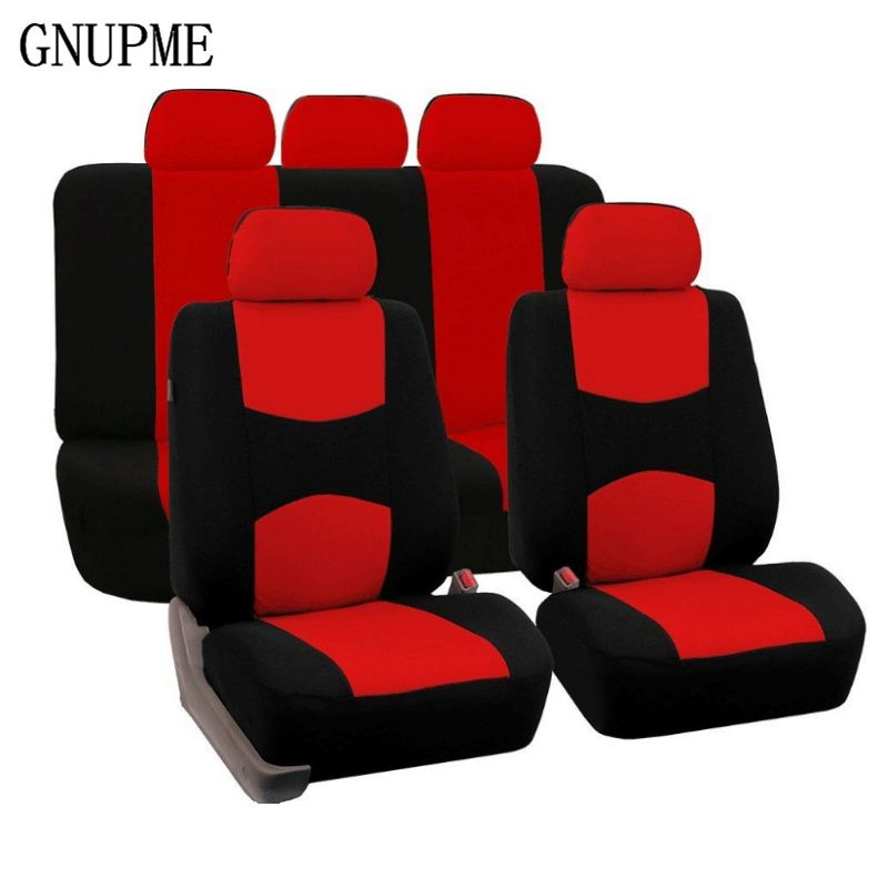 GNUPME New High Quality Universal Car Seat Covers Auto Interior Styling Decoration Protect Universal Fit Interior Accessories