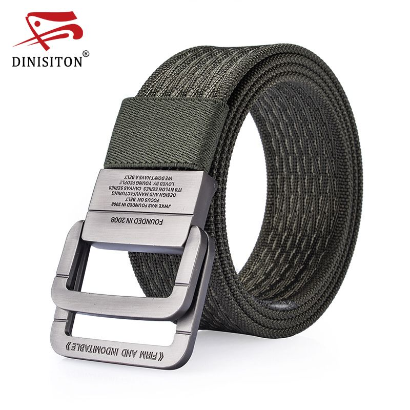 DINISITON Nylon Belt men Army Tactical Belts man Military Waist Canvas male High Quality <font><b>Equipment</b></font> Strap ceinture homme