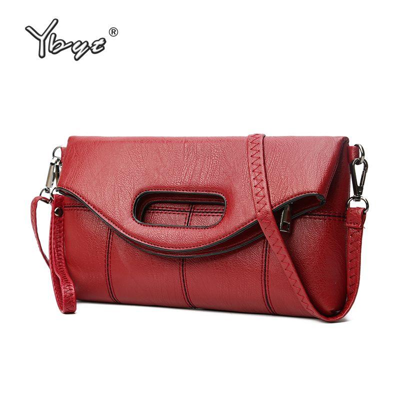YBYT marque 2019 nouvelles femmes pack enveloppe embrayage pli sacs à main femme décontracté Messenger sac dames épaule sacs à bandoulière