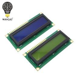 WAVGAT LCD1602 1602 module Blue Green screen 16x2 Character LCD Display Module HD44780 Controller blue black light