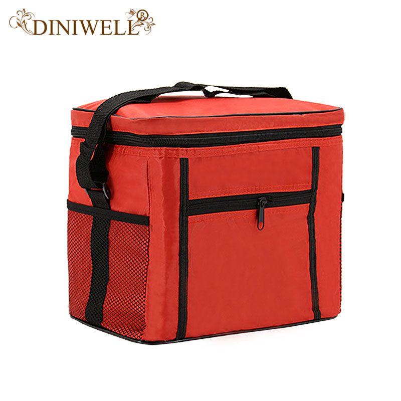 DINIWELL 420D Étanche Oxford sac glacière aliment boisson De Stockage De compartiment à bagages Pour Refroidisseur boîte à déjeuner Pique-Nique Camping