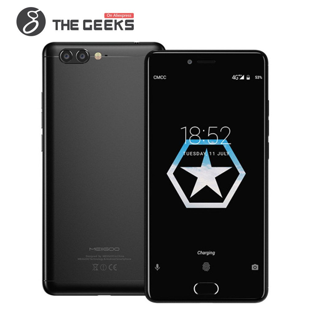 MEIIGOO M1 Android 7.0 mobiblephone 6GB RAM 64GB ROM Helio P20 MTK6757 2.3GHz Octa Core 5.5 Inch 2.5D FHD Screen 4G Smartphone