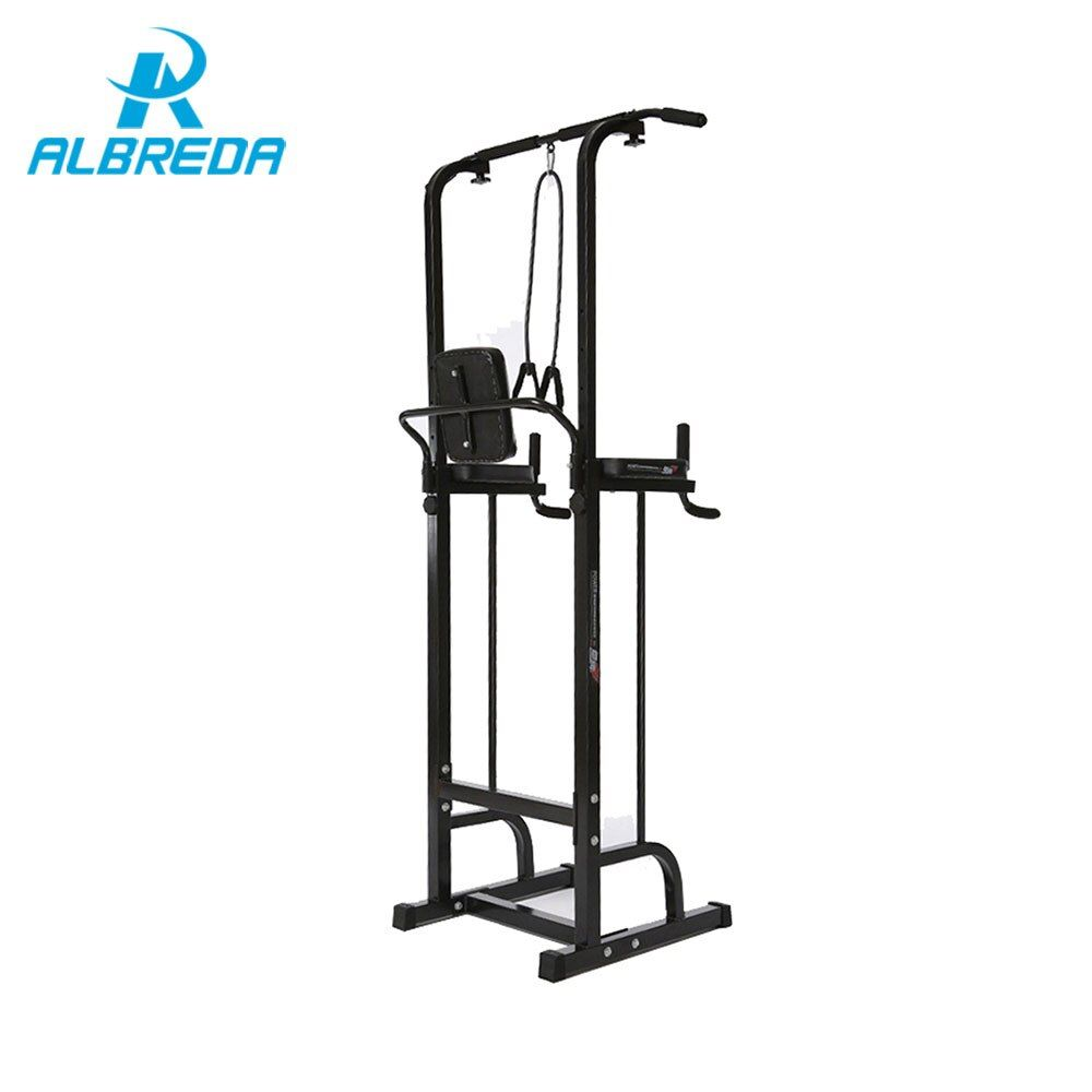 ALBREDA Gym training adjustable multi-function pull up bar within home fitness resistance bands chinup bar Bodybuilding machine