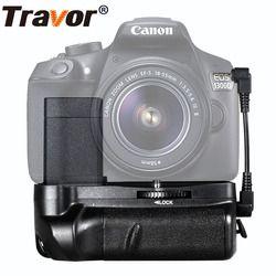 Travor Kamera Baterai Grip Pemegang untuk Canon DSLR 1100D 1200D 1300D Pemberontak T6 T5 T3 EOS Kiss X50 Menangani Bekerja dengan LP-E10 Baterai