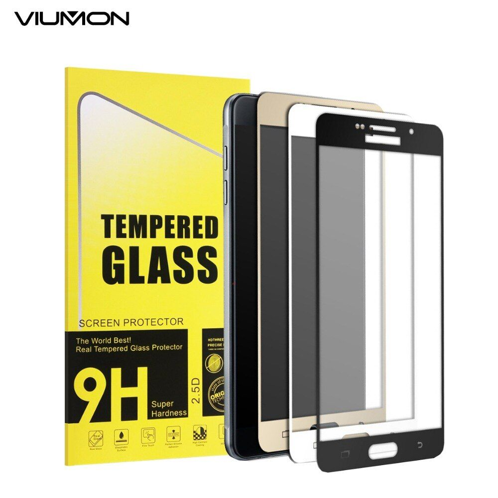 Full Cover Tempered Glass for Samsung Galaxy A3 A5 A7 2016 A5100 A3100 Screen Protector Film Safety Guard Protection on Screen