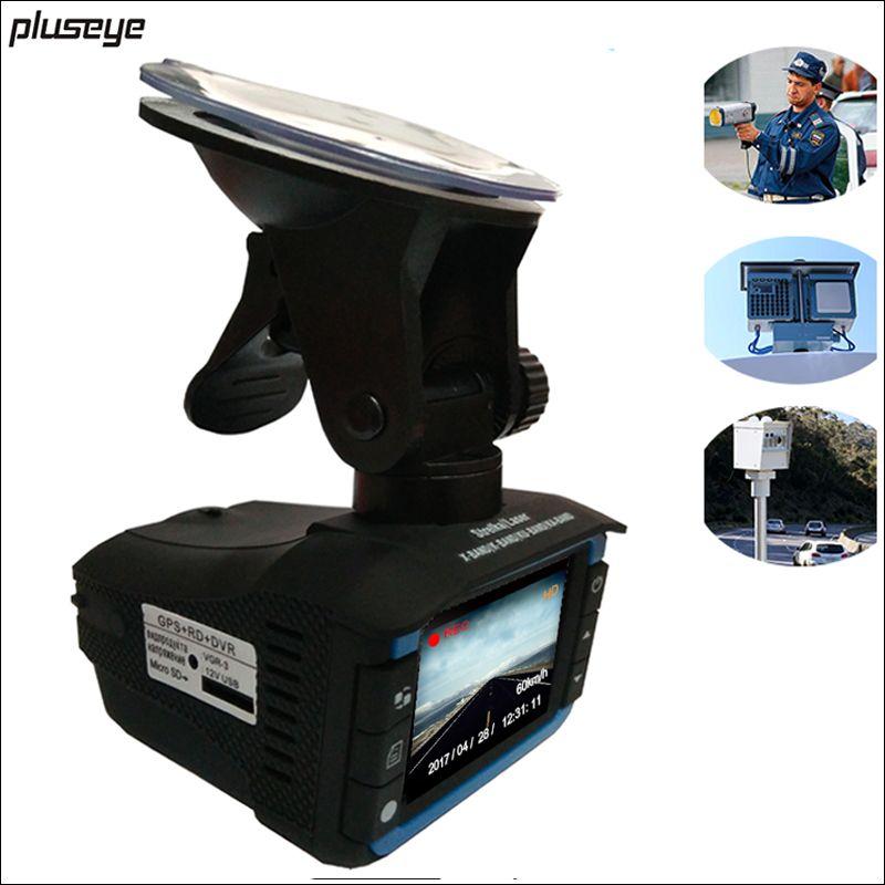 Russian Car DVR Radar Detector GPS informer 720P HD Video Registrator Car detector Anti radar G-sensor dash cam Car Camcorder
