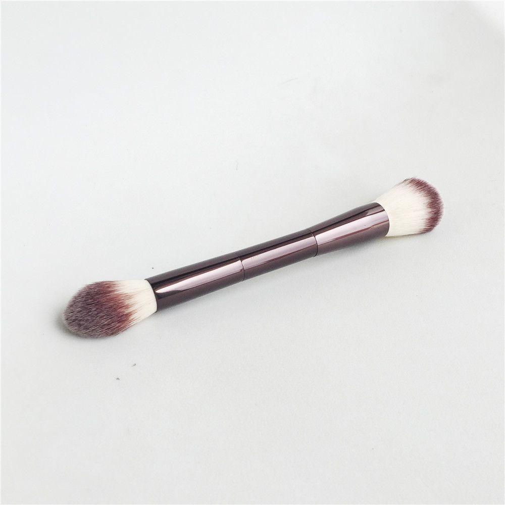 HG-SERIES AMBIANTE ÉCLAIRAGE MODIFIER BROSSE DUAL-ENDED LA PERFECTION Poudre Surligneur Blush Bronzer Brosse-Qualité Maquillage Brosse Blender