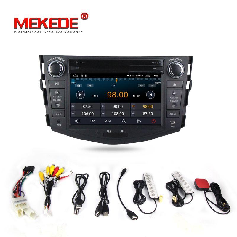 HD 1024x600 2din Auto Android 7.1 auto radio DVD-Player für Toyota Rav4 RAV 4 Audio Video Auto Stereo GPS Navigation Radio DAB +