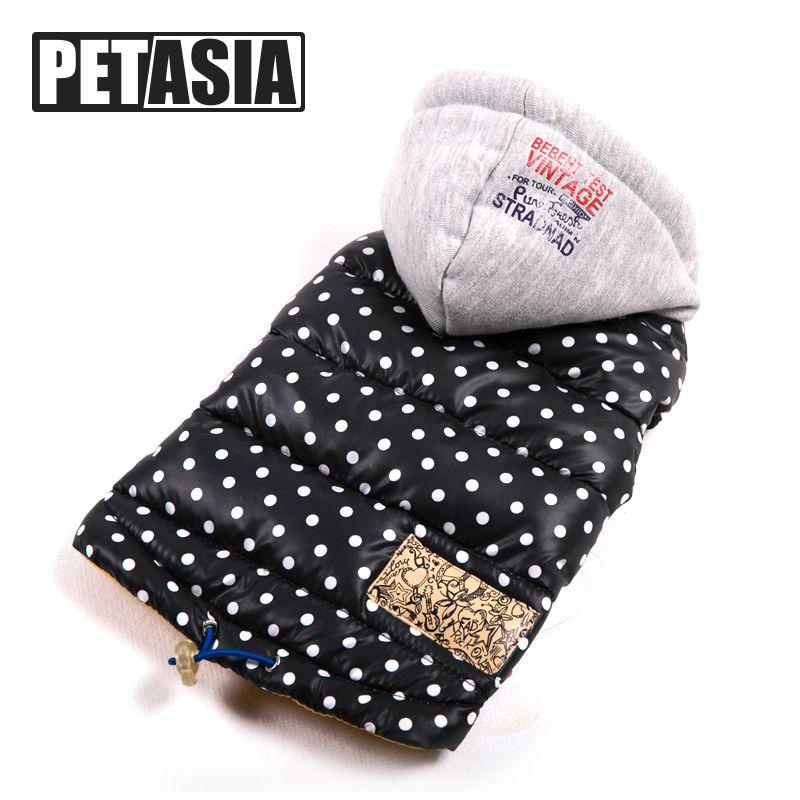 Vêtements pour chiens hiver veste pour animaux de compagnie chiens animaux vêtements de mode manteau chaud imperméable vêtements en tissu pour Chihuahua Bulldog petit chiot