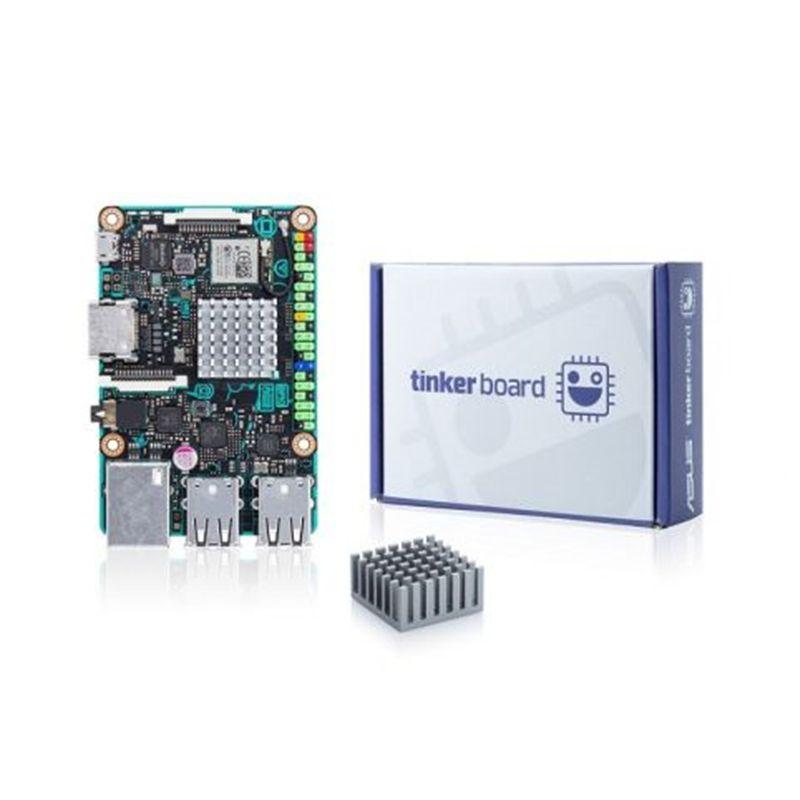 ASUS SBC Tinker bord RK3288 SoC 1,8 GHz Quad Core CPU, 600 MHz Mali-T764 GPU, 2 GB LPDDR3 tinkerboard geschwindigkeit als raspberry pi 3