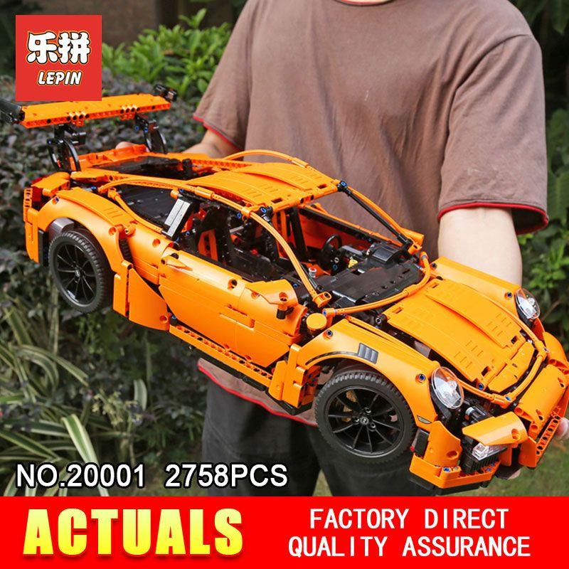 LEPIN 20086 20001 Technic Series Model Building Blocks Bricks Compatible 42083 42056 Supercar Racing Car Gift Educational Toys