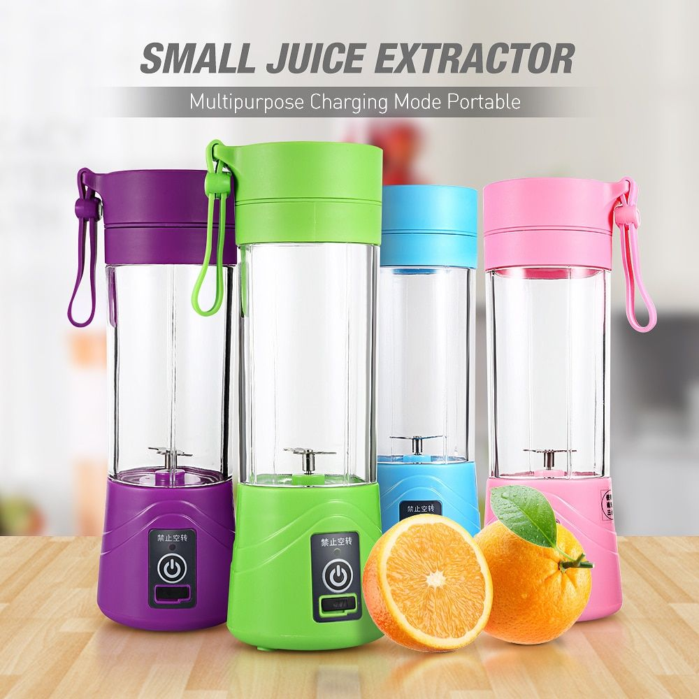 Multipurpose Charging Juicer <font><b>Extractor</b></font> Mode Portable Small Household Blender USB low noise Egg Whisk/Juicer/Food sharp cut Mixer