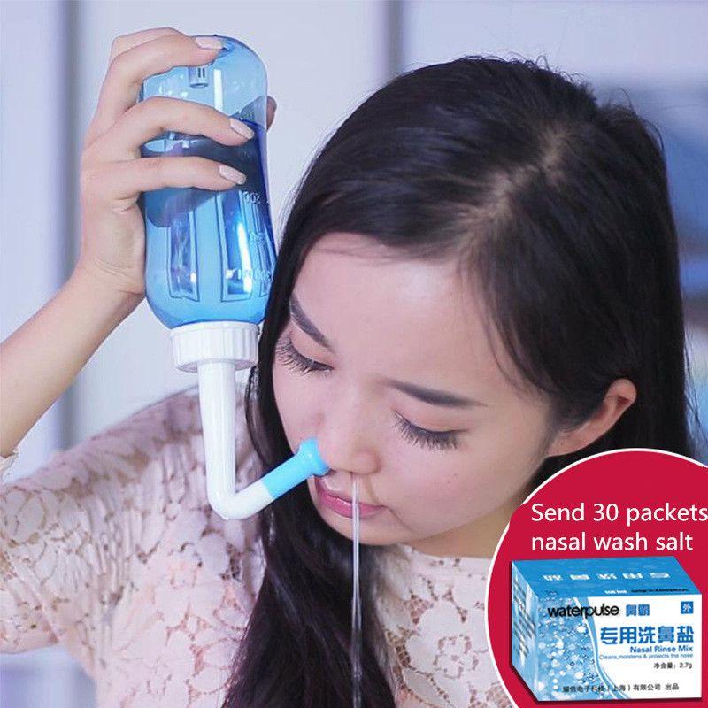 Adult Children Neti Pot Standard Nasal Nose Wash Yoga Detox Sinus Allergies Relief Clean Sinus Allergies Nasal Pressure Neti pot