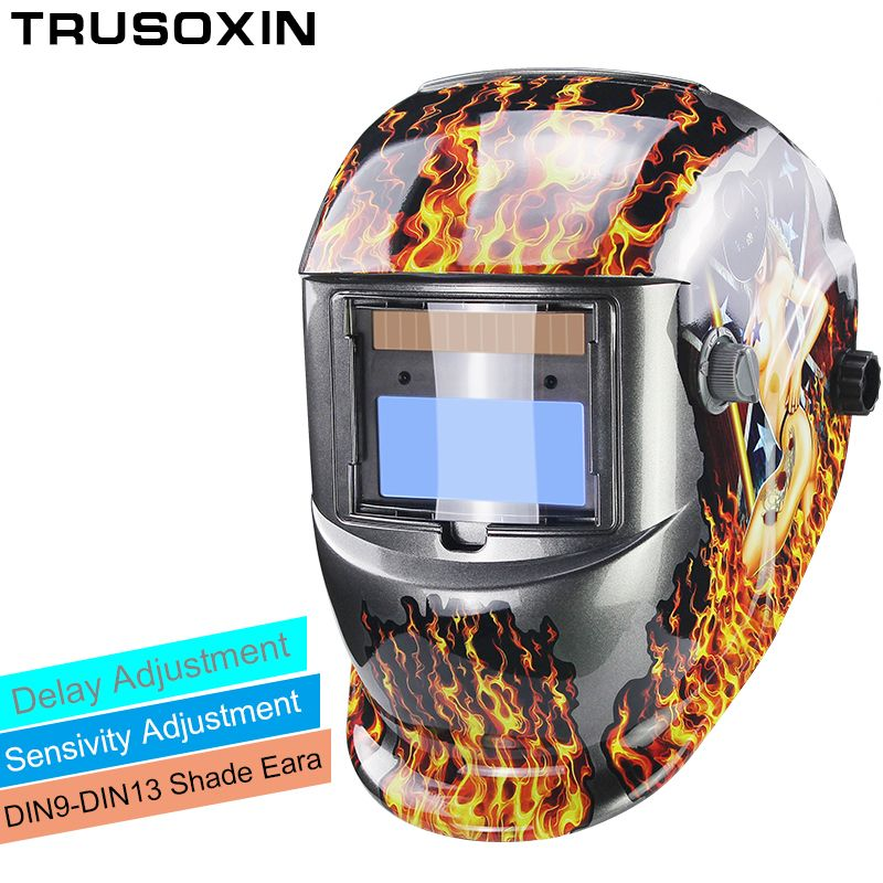 Solar Li Auto Darkening TIG MIG MMA Welding Helmets/Welder <font><b>Goggles</b></font>/Mask Eyes Glasses/<font><b>Goggles</b></font> for Welding Machine/Accessories