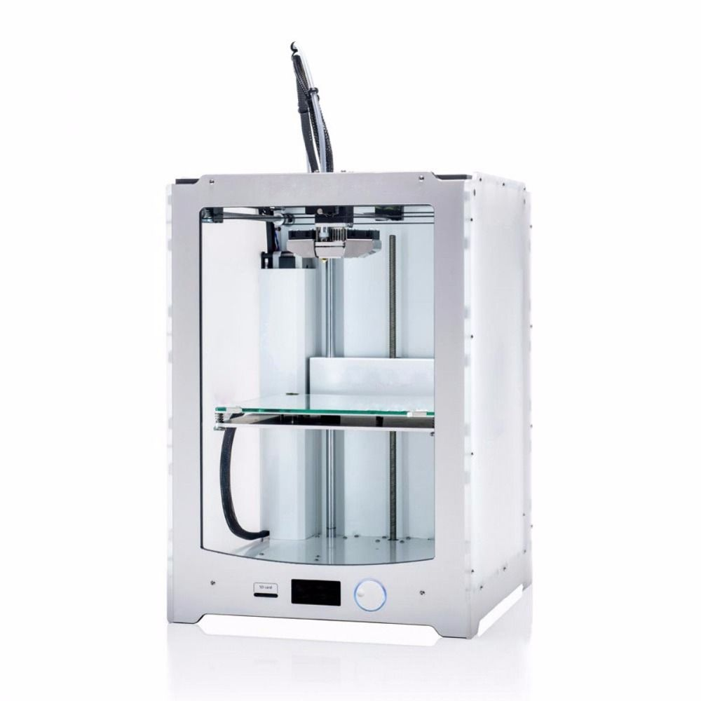 Blurolls Ultimaker 2 Extended+ 3D printer full kit 1.75mm metal extruder (not assemble) single nozzle UM2 Extended+ 3D printer
