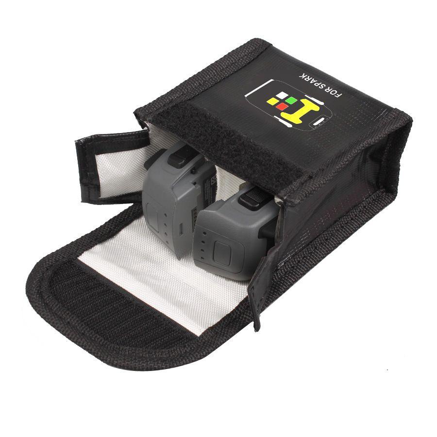 Lipo batterie Feuerfeste aufbewahrungstasche explosions sicher Box Hitzebeständigkeit strahlenschutz Tasche für DJI FUNKEN