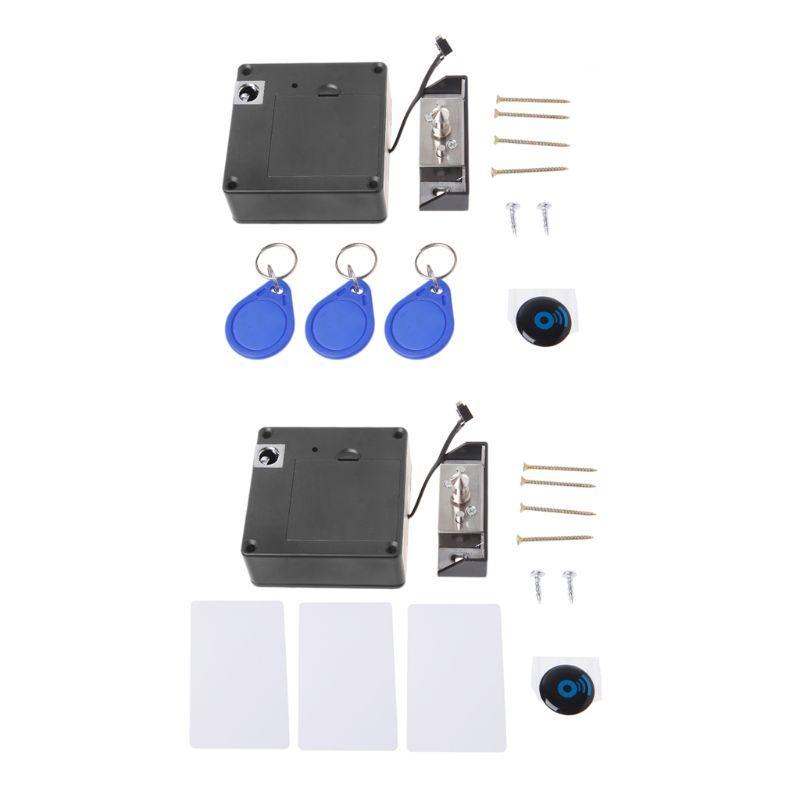 Armoire verrouille Invisible électronique RFID serrure caché sans clé tiroir porte serrures capteur casier armoire serrures