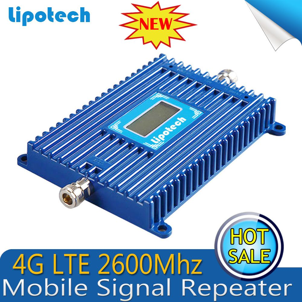 4G LTE 2600Mhz Mobile Signal Repeater 1000 Square Coverage 4G LTE Signal Booster Cell Phone Amplifier#2017