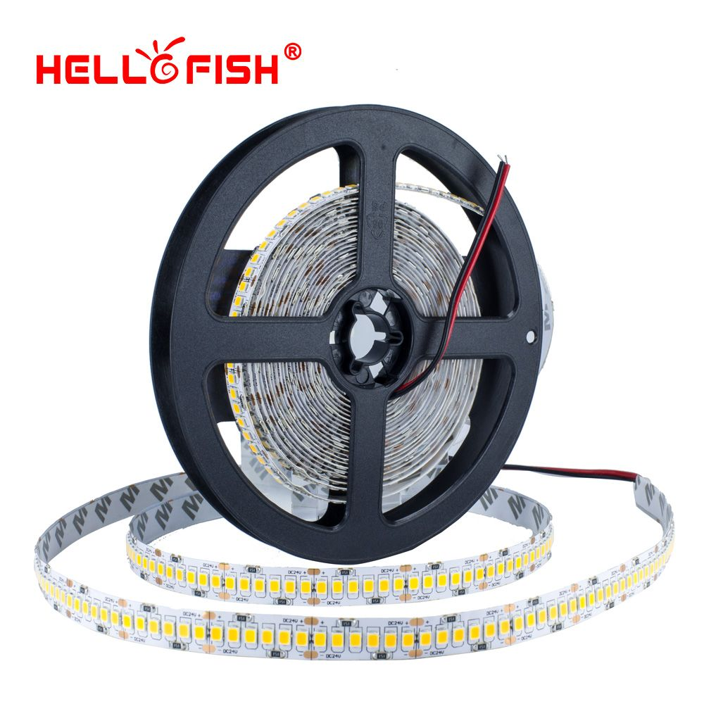 2835 LED bande 5 M 1200 LED haute luminosité 12 V LED Flexible PCB LED rétro-éclairage blanc chaud blanc 240 LED/m