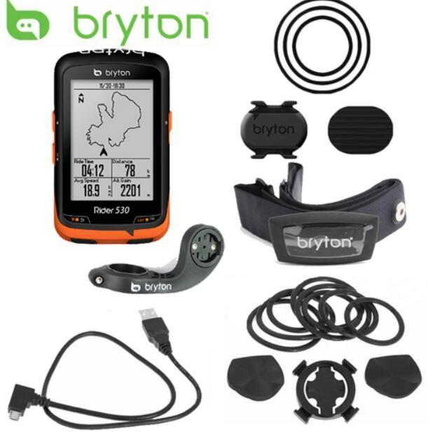 Neue Bryton Reiter 530 GPS Fahrrad Fahrrad Radfahren Computer & Erweiterung Mount ANT + Speed Cadence Dual Sensor Herz Rate monitor