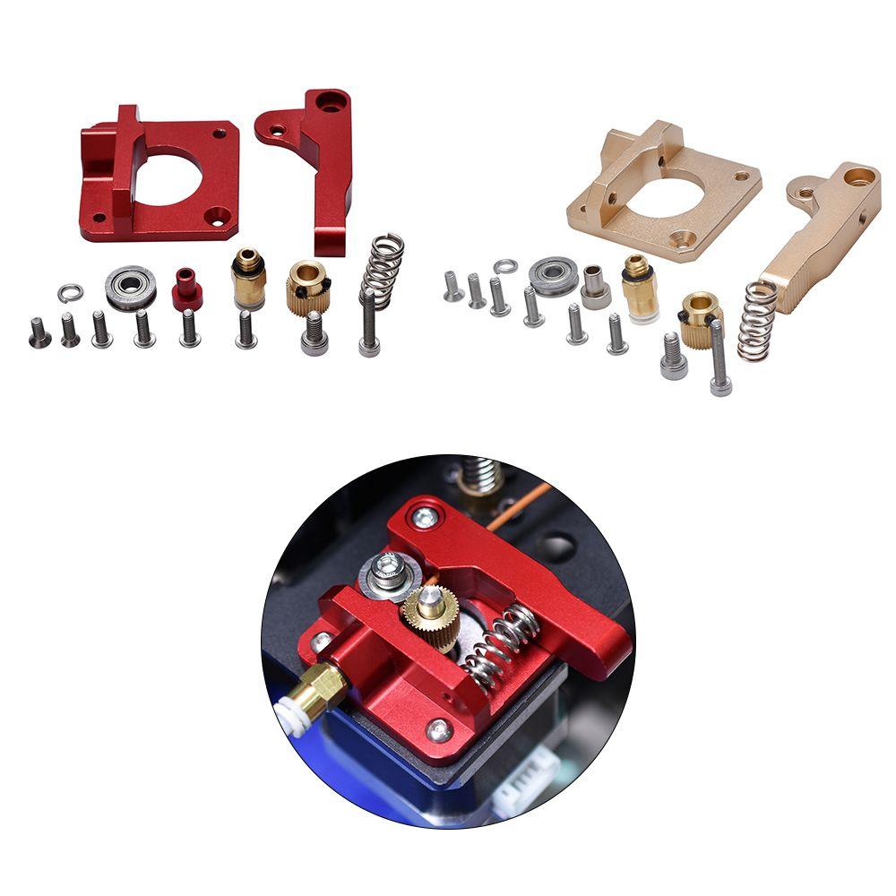 3D Printer Parts MK8 Extruder Aluminum Alloy Block Bowden Extruder CR10 1.75MM Filament Extrusion For MK8 CR-10 CR-10S Ender-3