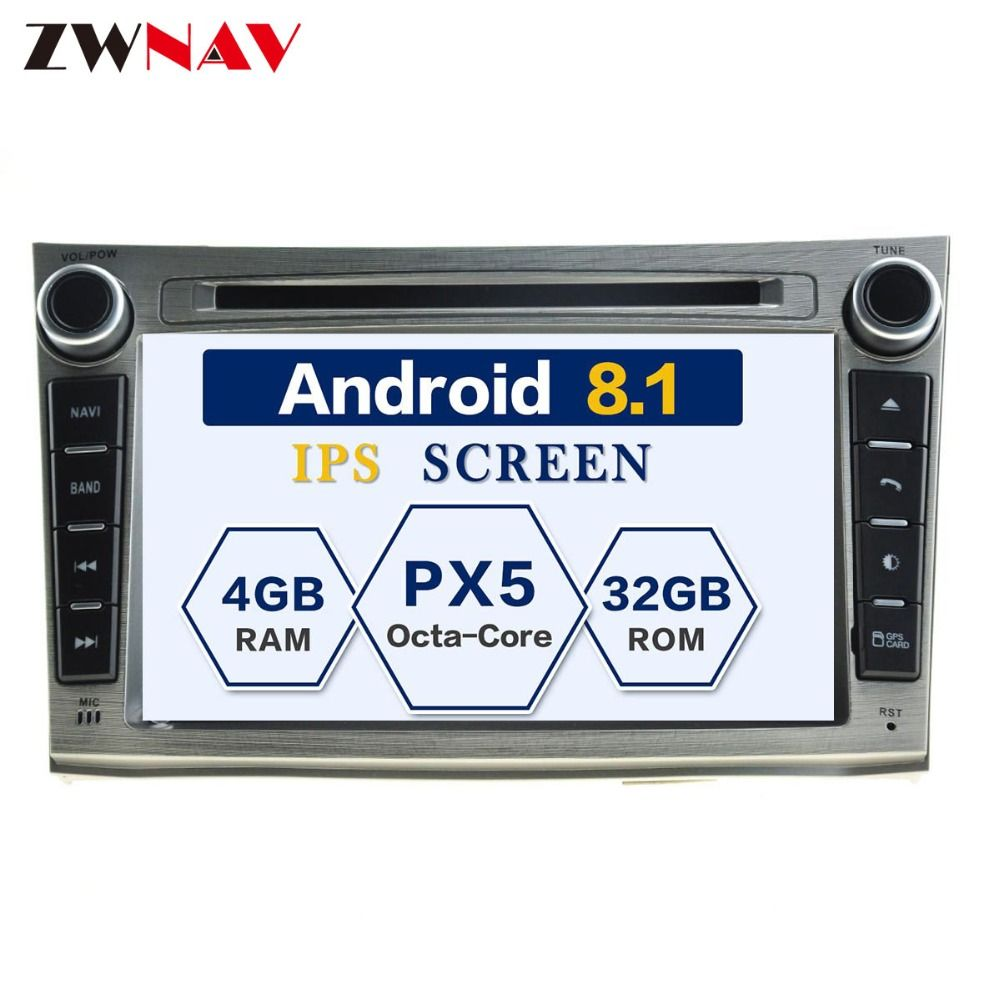 Android 8.0 8 Core RAM 4GB ROM 32GB Car GPS Auto Radio Screen DVD Player For Subaru Legacy Outback 2009-2014 Free Map And Camera
