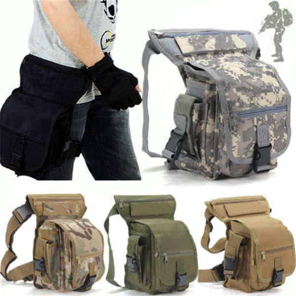 Multicam Sports Ride Leg Bag Special Waterproof Drop Utility <font><b>Thigh</b></font> Pouch 2015 Military Waist Pack Weapons Tactics Free Shipping