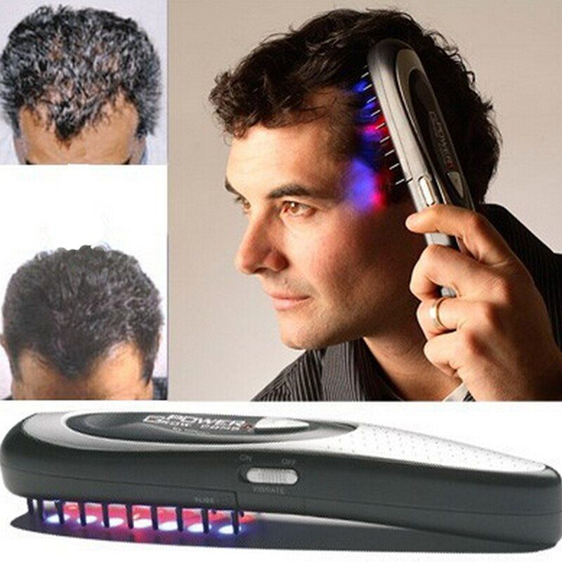 1 pc Laser massage comb body massager Hair comb massage equipment Comb Hair growth Care Treatment A4