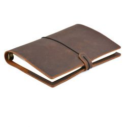 Handmade Antik Diary Kulit Notebook A5 A6 A7 Kulit Pengikat Sketsa Untuk Travel Journal, bisnis, kantor, perlengkapan sekolah