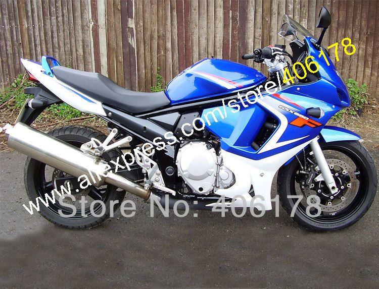 Hot Sales,Blue White For SUZUKI GSX650F GSX650 F GSX 650F GSXF650 GSXF 650 2008 2009 2010 2011 2012 2013 08-13 moto Fairings