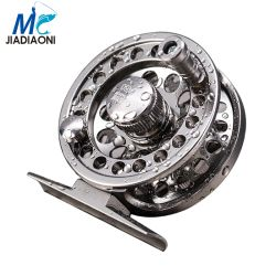 Jiadiaoni Stainless Steel Kualitas Tinggi Fly Fishing Reel 2 + 1BB Kanan Kiri Tangan Memancing Reel Fishing Tackle