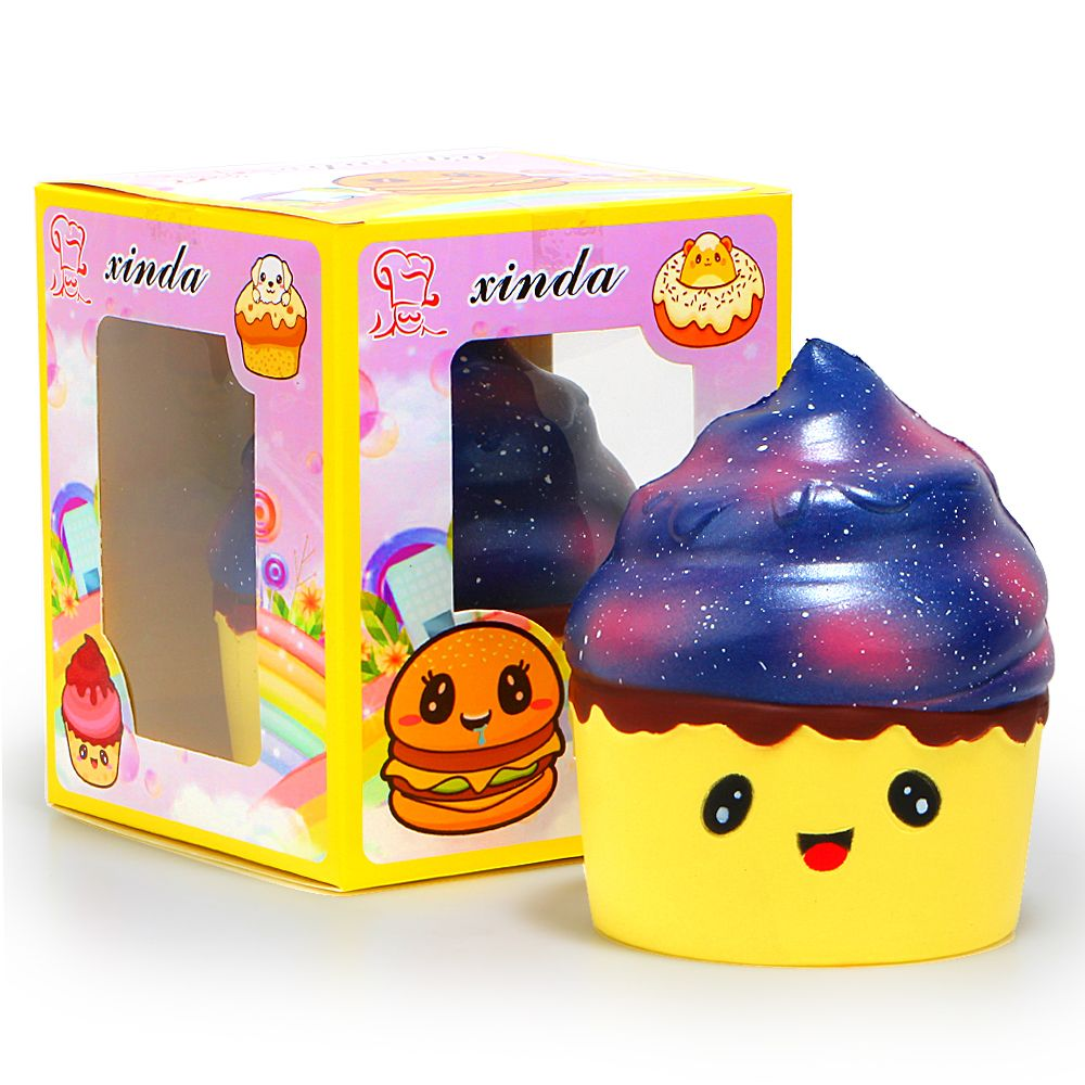 1PCS Ice Cream Cup Squishy Kawaii Scented Super Slow Rising With Package Box