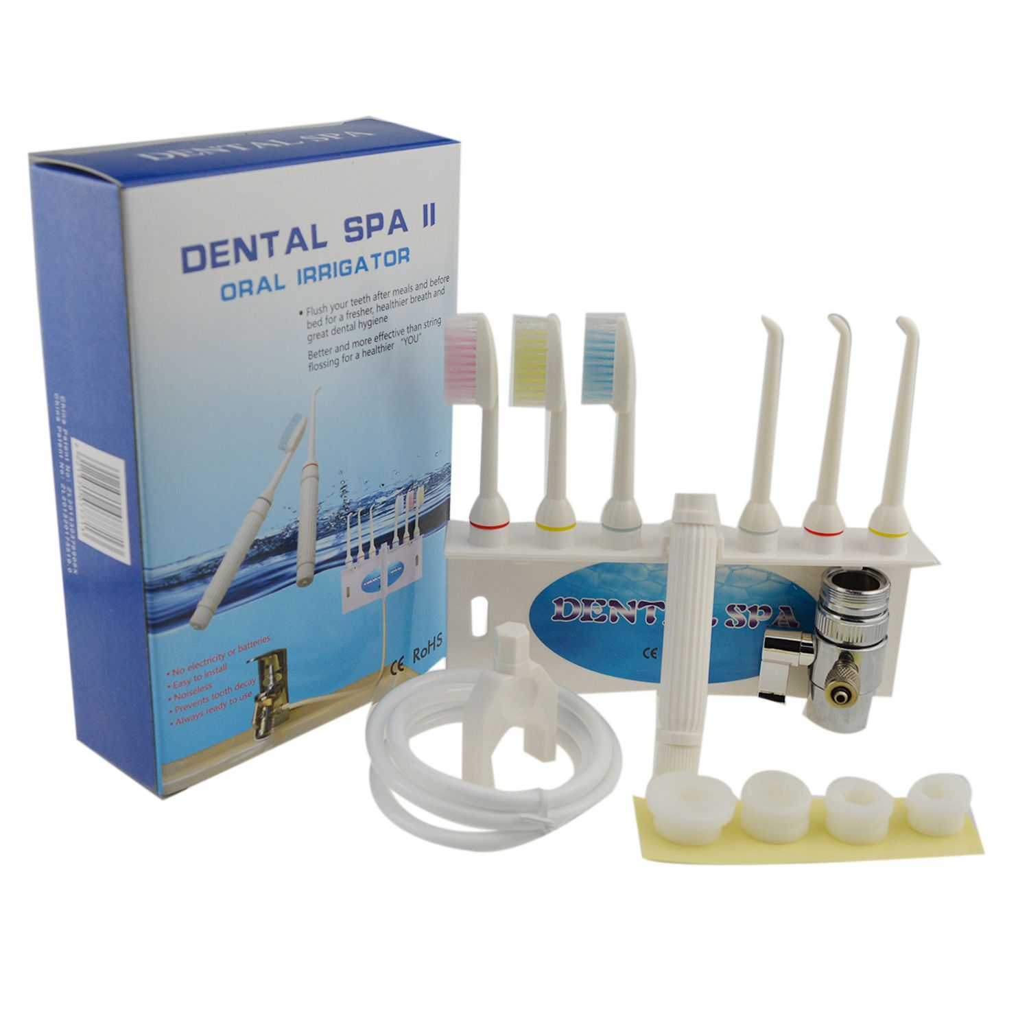 Teeth Cleaning Oral Irrigator Mouth Cleansing Toothbrush Water Tooth Kit