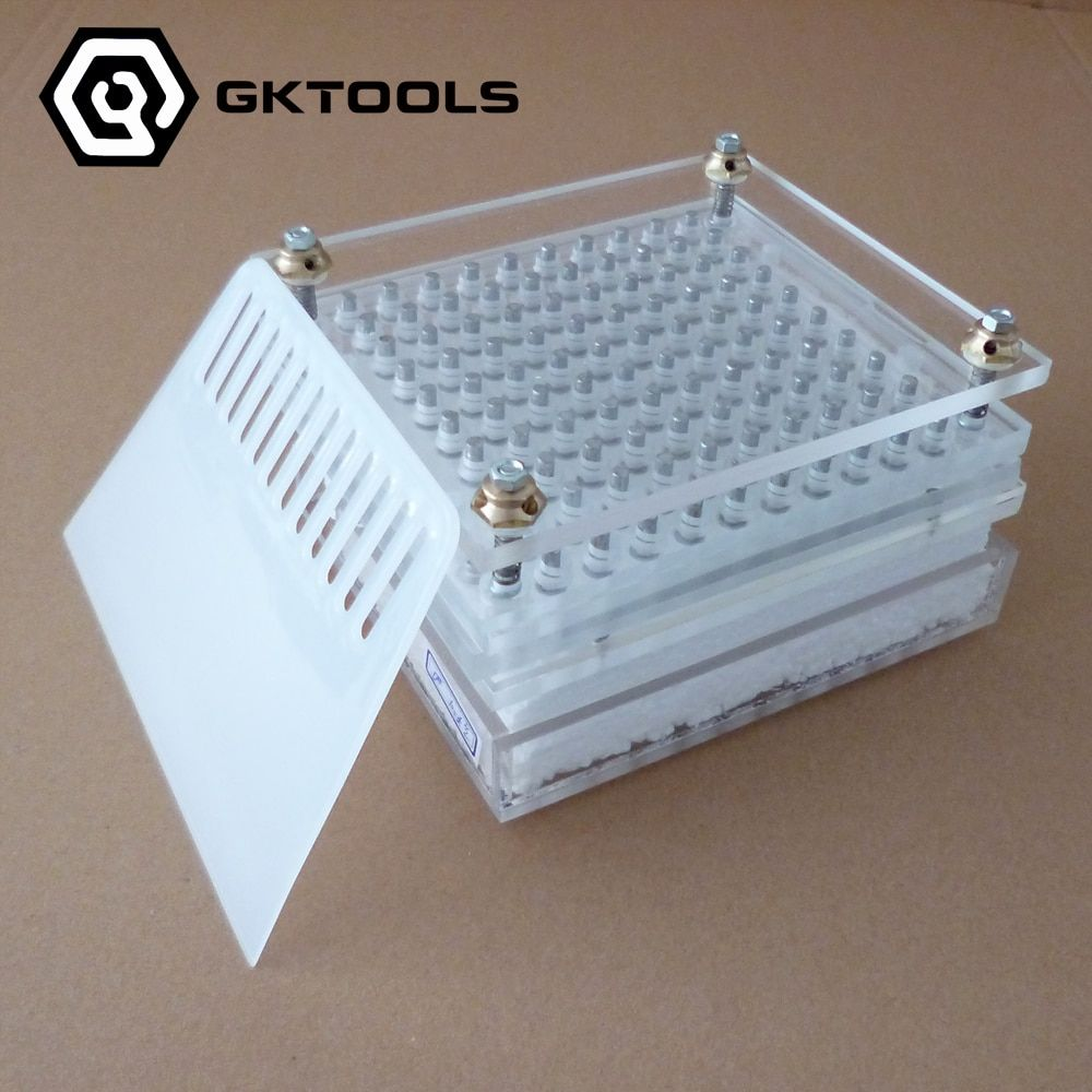 Capsule Filling Machine,100 Holes Capsule Filling Board With Tamping Tool Can Customize 00#,0#,1#,2#,3#,4#,5#
