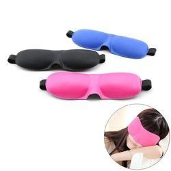 3D маска для глаз губка повязка на глаза путешествия Sleep Rest повязка, маска чехол мягкий путешествия Sleep Rest Aid Eye Mask Patch Sleep