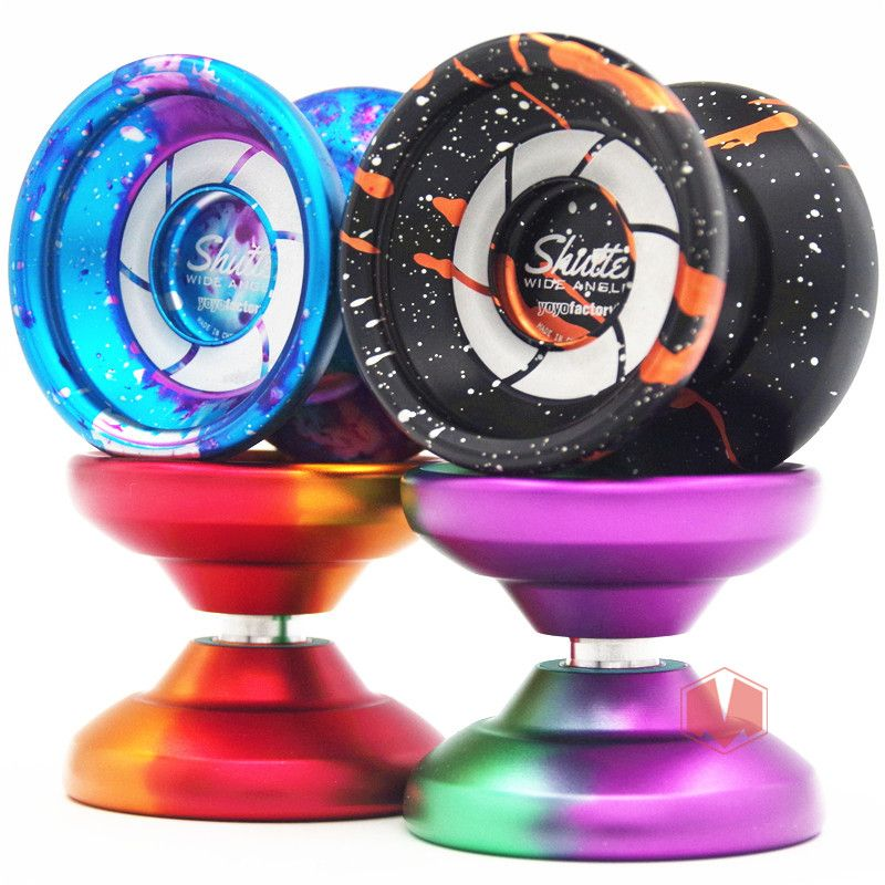 New arrive YYF shutter YOYO Wide version YOYO 1A Metal YOYO professional yoyo Christmas gift for boy