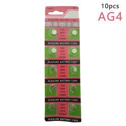 Centechia Haute Qualité En Gros 10 PCS/lot = 1 cartes AG4 377A 377 LR626 SR626SW SR66 LR66 bouton cellulaire Regarder Coin batterie