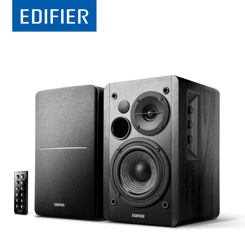EDIFIER R1280DB Bluetooth Speaker Bookshelf Powerful <font><b>Bass</b></font> Speaker Supports Remote Control Bluetooth Optical Coaxial Dual RCA