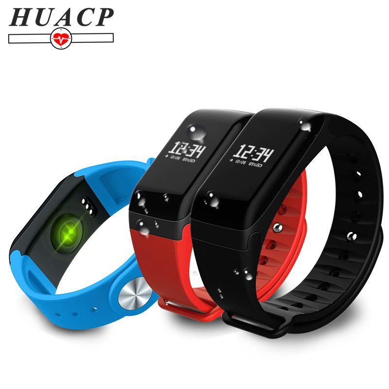 HUACP R3 Smart Bracelet bracelet de fitness en Oxygène du Sang Pression Bande de Fréquence Cardiaque Santé Tracker Podomètre Étanche ECG L8star