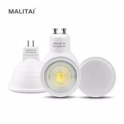 GU10 Led-lampe lampe MR16 LED 220 V 7 Watt Led-strahler Birne NICHT Dimmbaren GU5.3 220 V Spot licht innenbeleuchtung