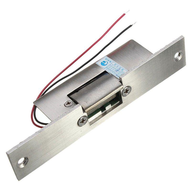 Edelstahl Tür 12 v DC Fail Safe KEINE Schmale-typ Tür Türöffner Sperre Für Access Control Power Schlösser sicherheit Sicher
