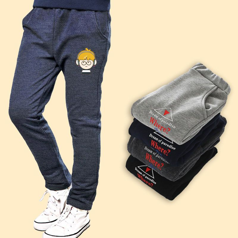2018 New Arrival Casual Spring boy's trousers Leggings Casual Trousers boy Pants children clothes Kids Boys Trousers Child Cloth