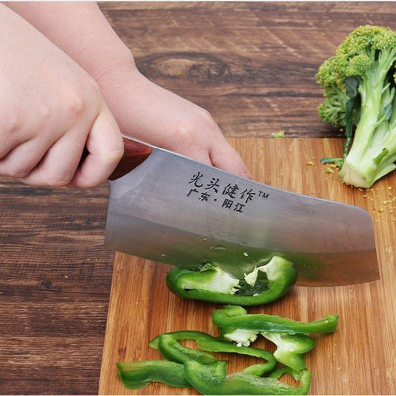 LDZ 5Cr15MoV acier inoxydable Kitcchen Chef couteau pointu japonais cuisine couteaux viande fruits légumes couperet outils de cuisson