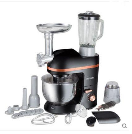220 V Multifunktions Elektrische Knetmaschine Eier Beater 5L Elektrischen Mixer Mit Entsafter Grinder Für Wurst Küche Küchenmaschine