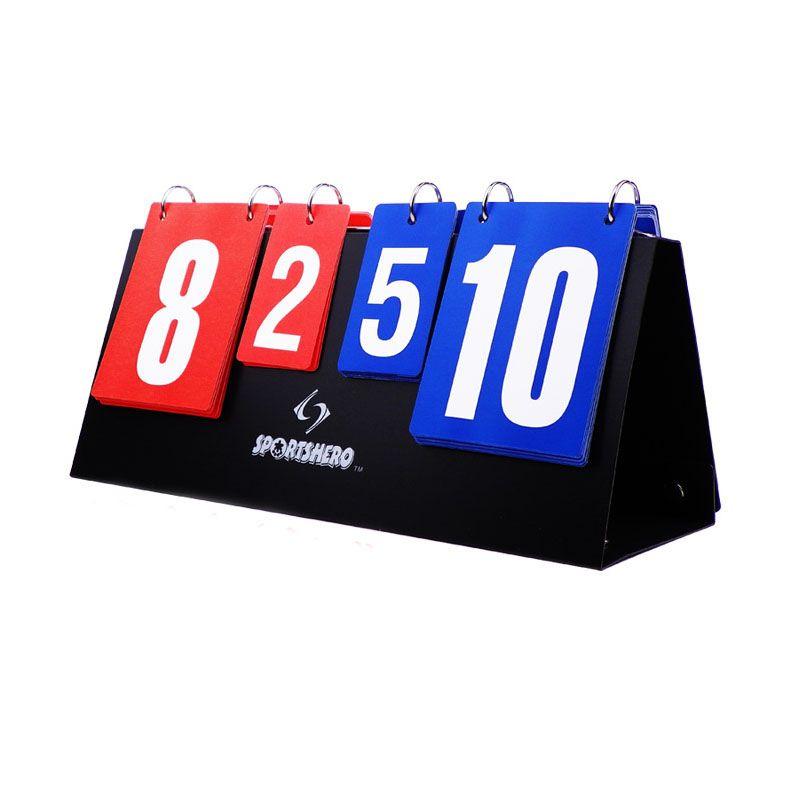 Портативный Баскетбол табло 4 цифры спортивные табло для волейбола настольным теннисом гандбол бадминтон забил оптовая продажа