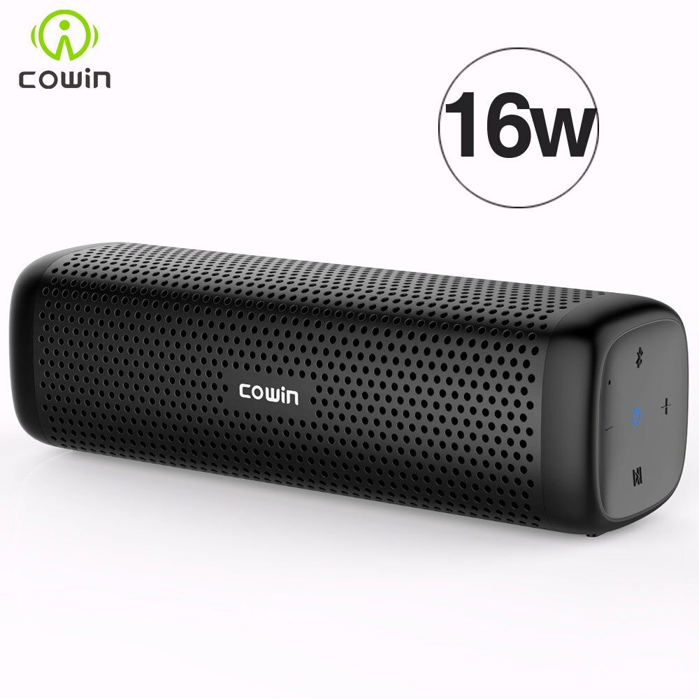 Cowin 6110 Mini Wireless Bluetooth 4.1 Stereo Portable Speaker with 16W Enhanced <font><b>Bass</b></font> Microphone TF Card Outdoor MP3 Player